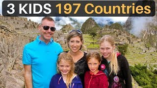 Download 3 Kids | 197 Countries (The Travel Family) Video