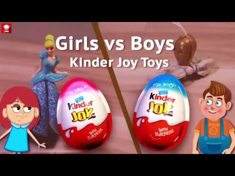 kinder joy toys | boys toys vs girls toys | surprise toys | star wars toys | cinderella toys