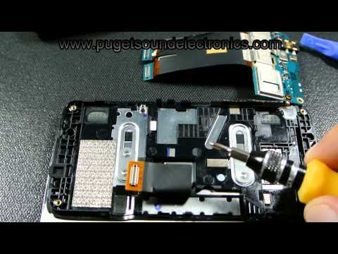 How to disassemble/ take apart At&t HTC Surround T8788