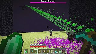 What if Villagers beat Minecraft for you..?