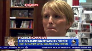Chelsea Manning cries while thanking Obama for granting her clemency