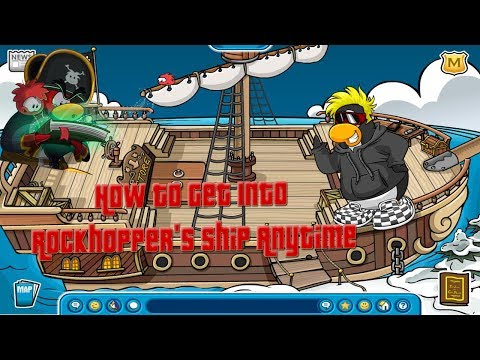 How To Get Into Rockhoper's Ship At Any Time (December 2013)