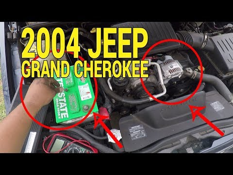 Replacing an Alternator on a 2004 Jeep Grand Cherokee 4.7L