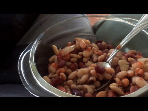 Eating 11 year old beans from storage