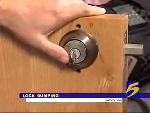 A Deadbolt Lock Can be an Easy Target for Burglars