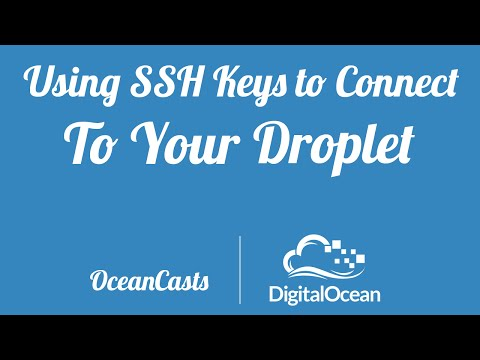 Using SSH Keys to Connect to your Droplet (Windows)