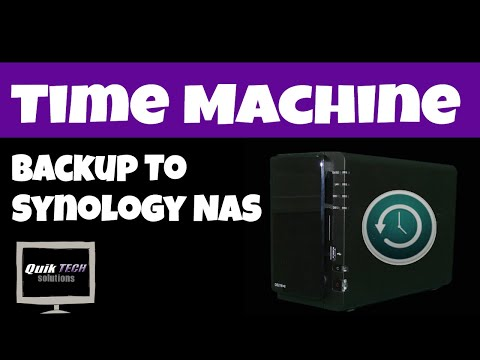 Synology Time Machine Backup