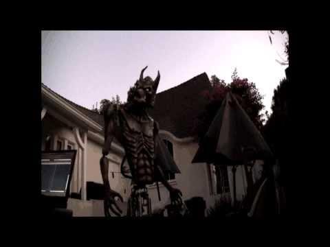 Anubis Wolf Halloween Prop 2013,  build and first test