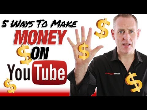 5 Ways To Make Money With YouTube - No Matter Your Size