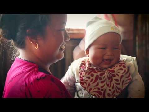 Nepal: Walking the rugged terrain to keep babies healthy