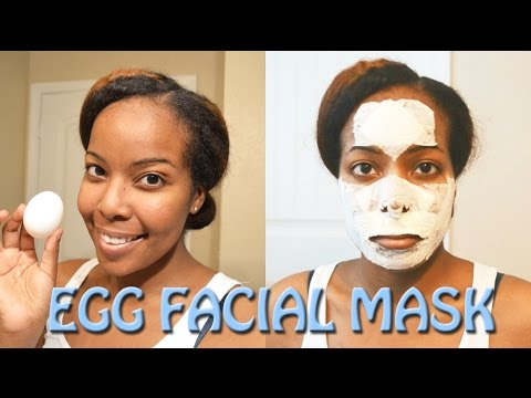 How To: Remove Blackheads and Tighten Pores - Egg Facial Mask