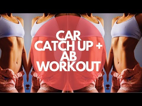 🚗 CAR CATCH UPS | 6 Weeks Out + Ab Workout 💪💪