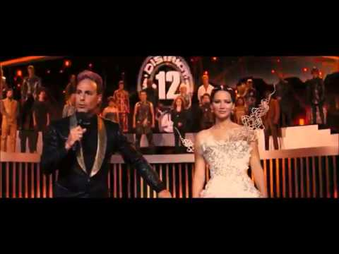 Katniss And Peetas Interview- Catching Fire
