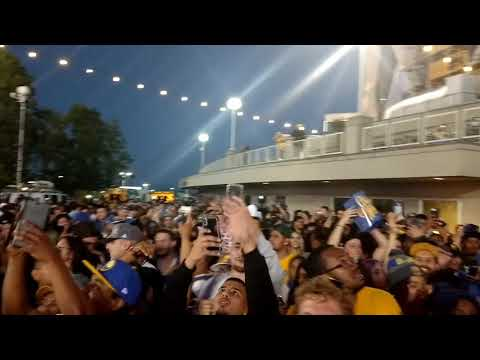 After party Oracle Arena 2018 NBA Championship Sweep