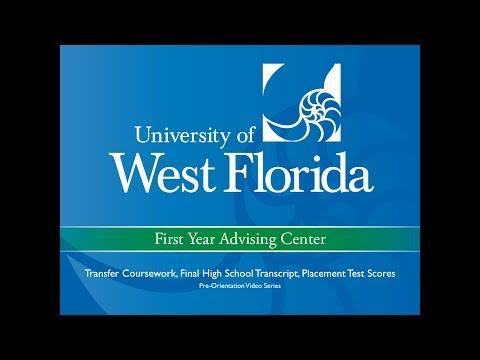 Pre-Orientation Video 1: Transfer Coursework, Final High School Transcript, Placement Test Scores