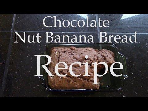 Chocolate Banana Nut Bread Recipe