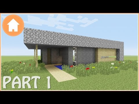 Minecraft Tutorial: How to Build a Survival House in Minecraft #1