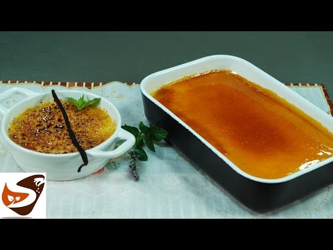 Creme brulee - ricette dolci al cucchiaio  (crème brulée)