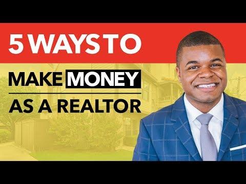 5 Ways To Make Money As A Realtor - Real Estate Coaching