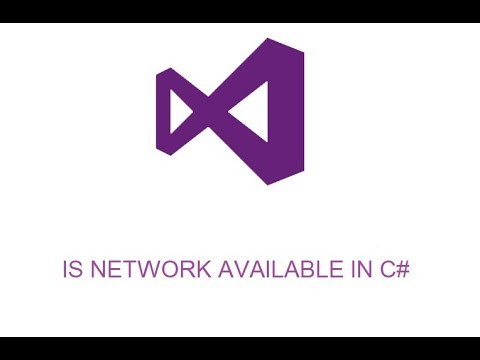 HOW TO CHECK IF THERE IS CONNECTION IN C#