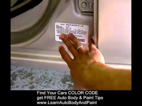 Car Paint Code - Auto Paint Codes
