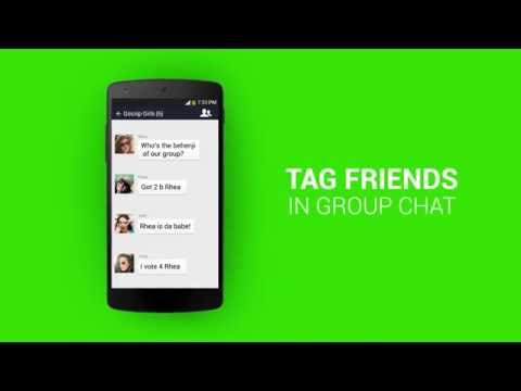 WeChat Quickies Tag Friends in Group Chat