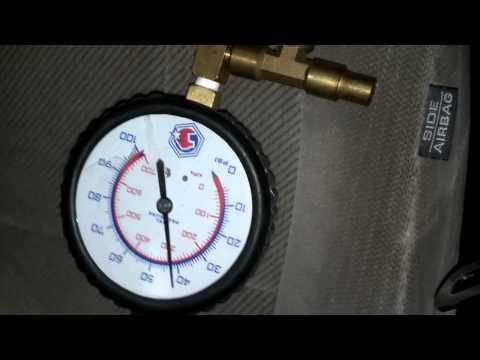 2000 Honda Accord fuel pressure test