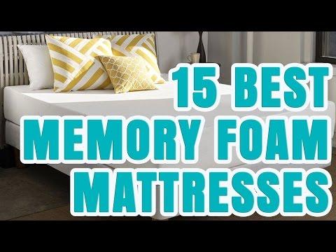 Best Memory Foam Mattress 2017 – TOP 15 Memory Foam Mattresses