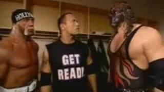 Kane Imitates The Rock & Hollywood Hulk Hogan