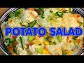 Stop!! How To Make The Best Ever Potato Salad ! Jamaica Way | Recipes By Chef Ricardo