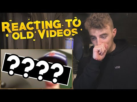 REACTING TO MY OLD VIDEOS! (why did i do this?)