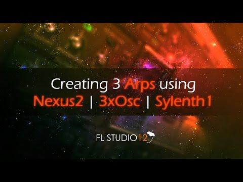 How to make Arps using 3 different plugins | FL Studio Tutorial
