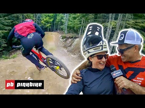 Meeting the riders of Whistler Bike Park Opening Weekend 2018