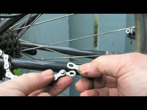 Remove & Install a bicycle chain