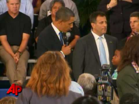Obama Gets Tough Question From Fourth Grader