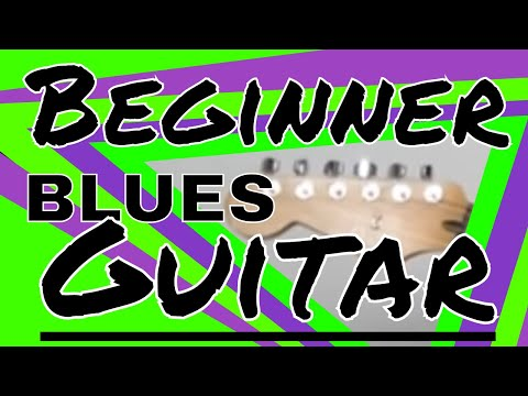 Super Easy Blues Guitar Lesson For Beginners | Learn Blues Guitar