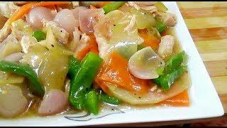 Download ৩ টি সবজি দিয়ে চিকেন চাইনিজ ভেজিটেবল রান্না Bangladeshi Chinese vegetables Recipe   Vegetables Video