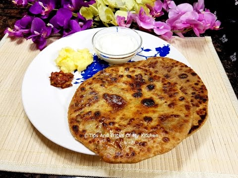 Dhaba Style Aloo Paratha Recipe   Aloo Ka Paratha Recipe   Easy Aloo Paratha In Hindi