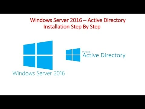 How to Install and Configure Active Directory and DNS Server on Windows Server 2016