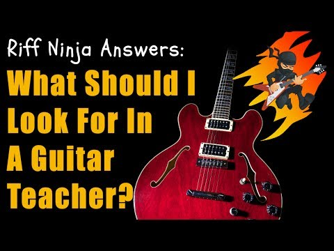 What to Look for in a Guitar Teacher?