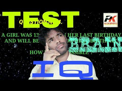 Genius IQ Test | Test your brain