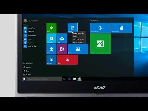 Windows 10 - How to Resize Start Menu App Tiles