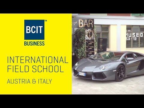 BCIT Italy & Austria International Field School Overview