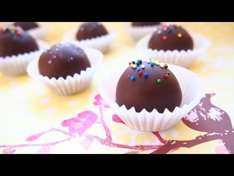 Easy NO-BAKE Edible Cookie Dough + Truffles - Recipe