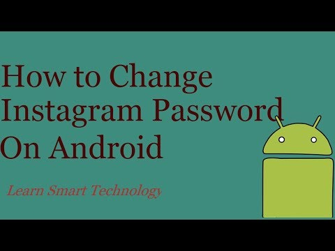How to Change Instagram Password On Android Devices 2018 | Reset Instagram Password on Mobile 2018