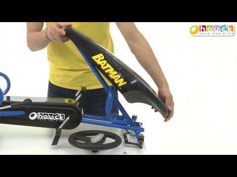 Hauck Batman Go Kart Aufbauanleitung  / Pedal Car Batman Instuction