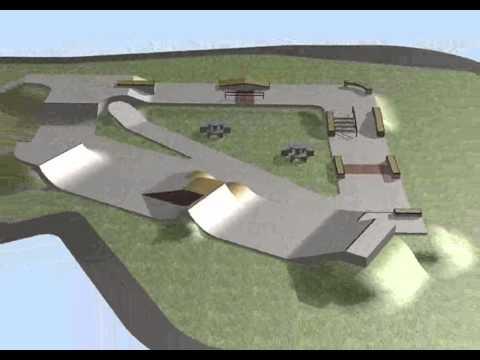 Bendcrete Skatepark Design