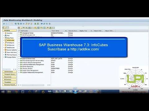 SAP BW 7.3: Infocube Standard