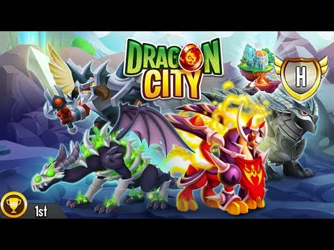 Dragon City - Ragnarok Island + All Dragons [First Looks]