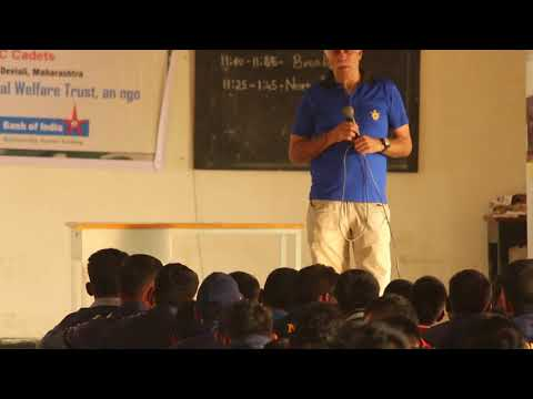Join NCC: Good Health talk by Col. Kapur {Retd.]